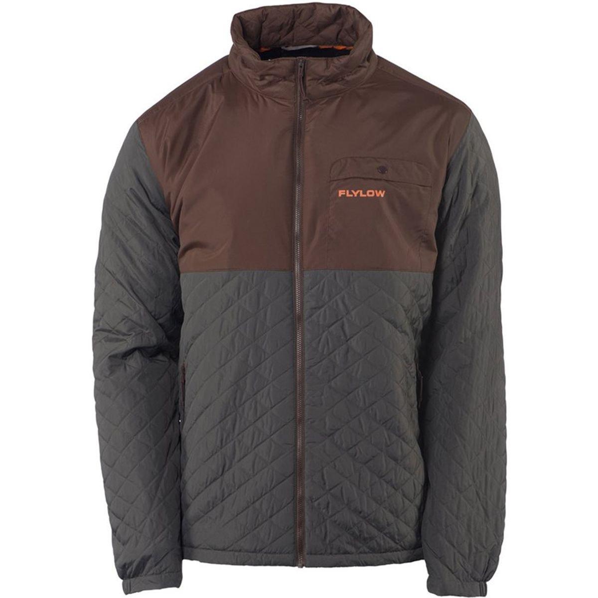 Flylow Gear Dexter Insulated Jacket – Men 's B075LS7JKG Small|Granite/Cola Granite/Cola Small