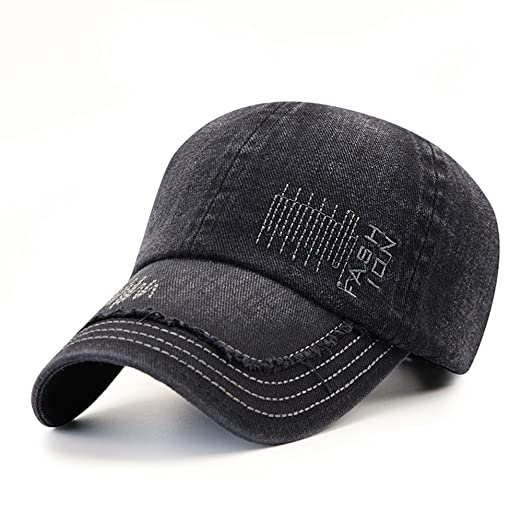 Image Unavailable. Image not available for. Color  Trucker Washed Baseball  Cap Hats for Women Mens c5de9941746