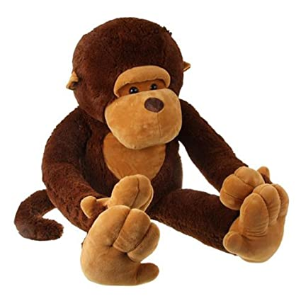 Amazon Com Gogo 51 Big Mouth Monkey Plush Toy Soft Stuffed