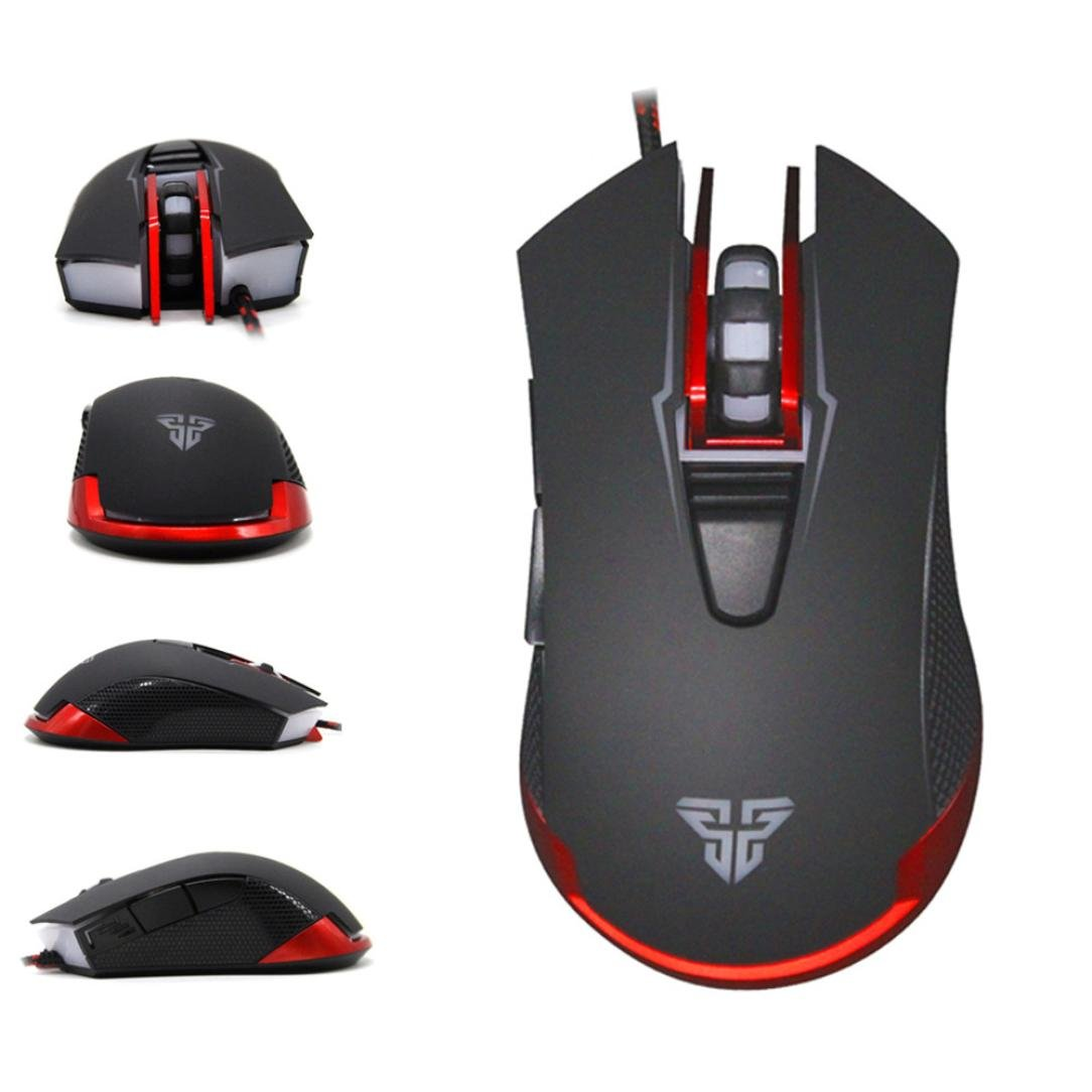 Mouse ,ZYooh LED Optical 6D USB Wired Gaming Game