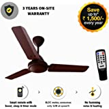 Gorilla Energy Saving 5 Star Rated 1050 Mm Ceiling Fan With Remote Control And BLDC Motor- Matt Brown