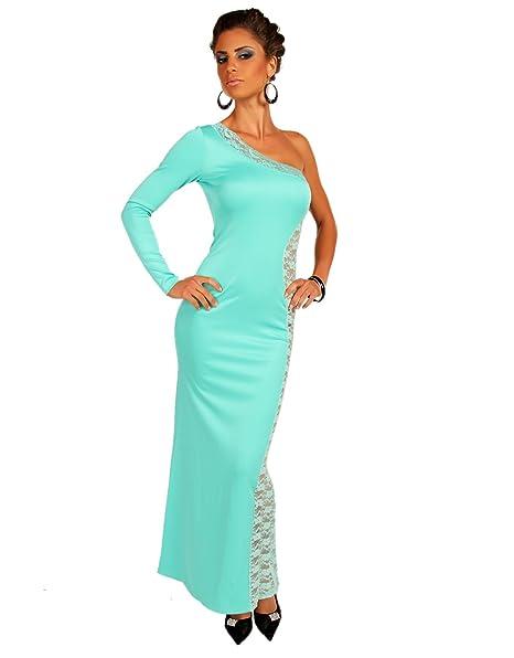 few24 Bonito máxima de vestido para vestido de noche fiesta vestido One Shoulder con cutouts de