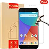 PULEN [2-Pack] Xiaomi MI A1 Screen Protector, 0.3MM Slim And 9H Hardness Tempered Glass [Anti-Scratch] [Bubble Free] Extreme Hardness with Lifetime Replacement Warranty
