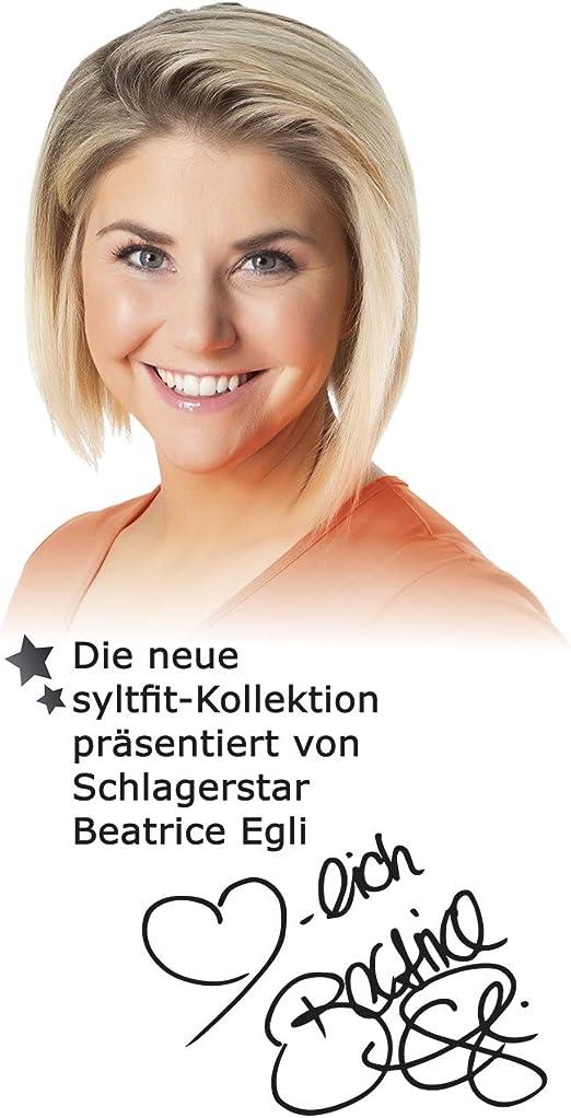 38//40 syltfit Sweathose präsentiert von Beatrice Egli - koralle//weiß M