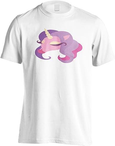INNOGLEN Dama Unicornio Camiseta de los Hombres u916m: Amazon.es: Ropa y accesorios