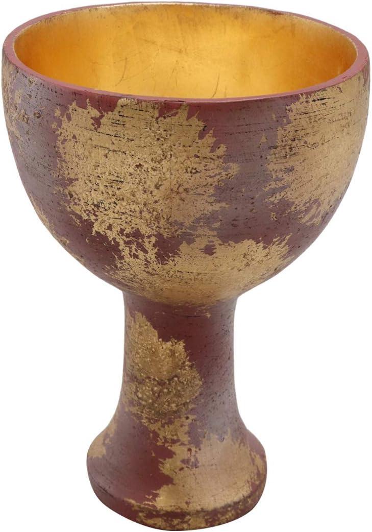 Bulex Indiana Jones Holy Grail Cup Crafts 1:1 Resin Replica Halloween Cosplay Prop (Gold)