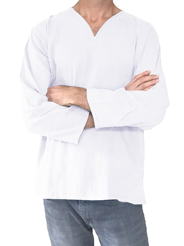 c5947f03d844 Top 10 wholesale Mens White Linen Shirt Xxl - Chinabrands.com