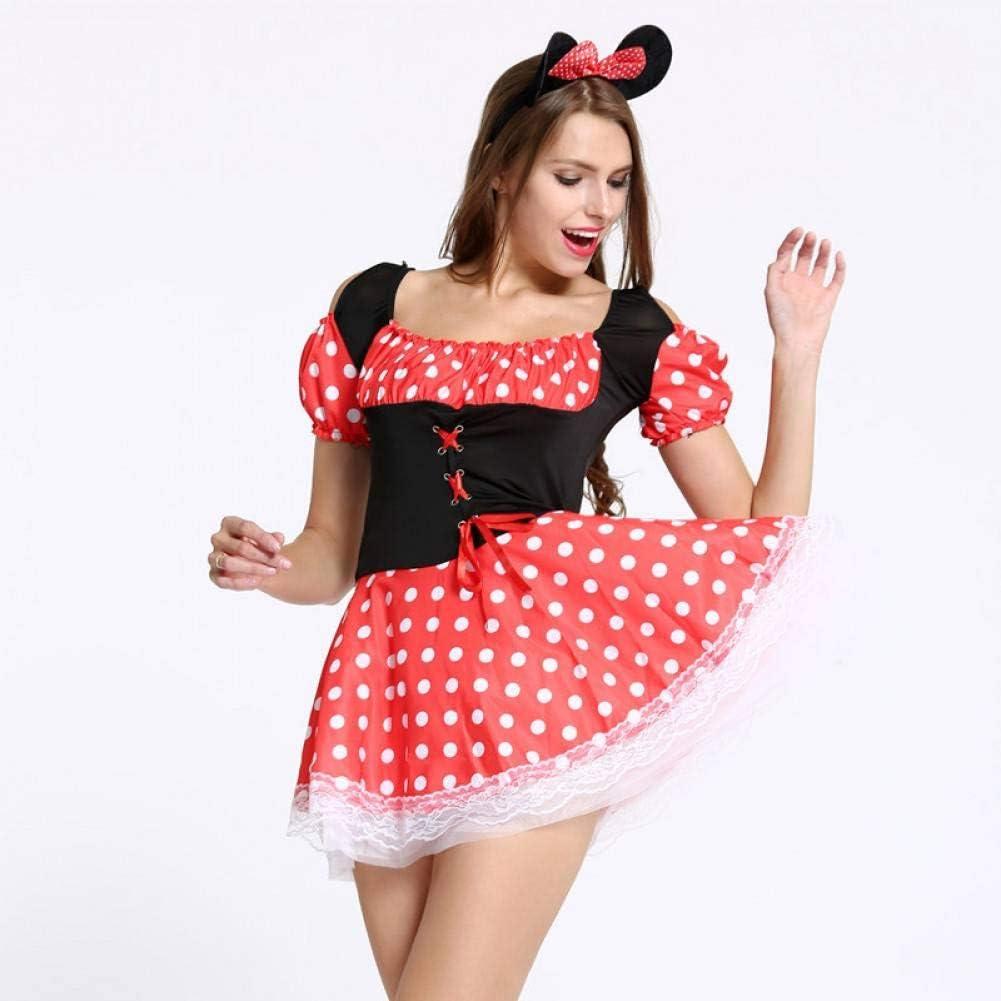 CHENGQQ Ropa interior erótica Sexy Navidad Halloween Minnie Mouse ...