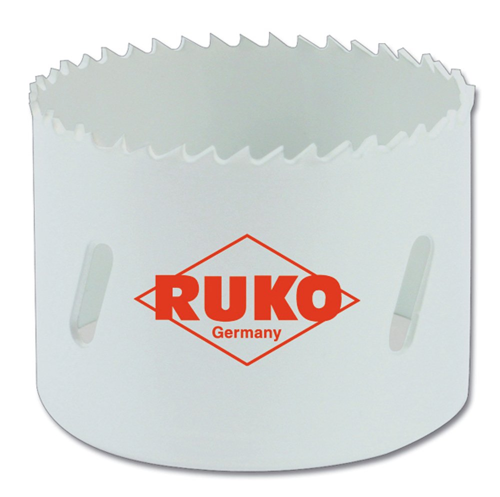 dentado fino 83 mm Ruko 126083 Corona perforadora HSS Co 8 bimetal