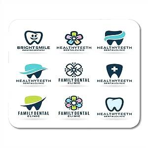 Almohadillas para Mouse Sonrisa Dentista Azul