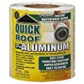 "Cofair Products QR625 6"" X 25' Aluminium Quick Roof Tape"