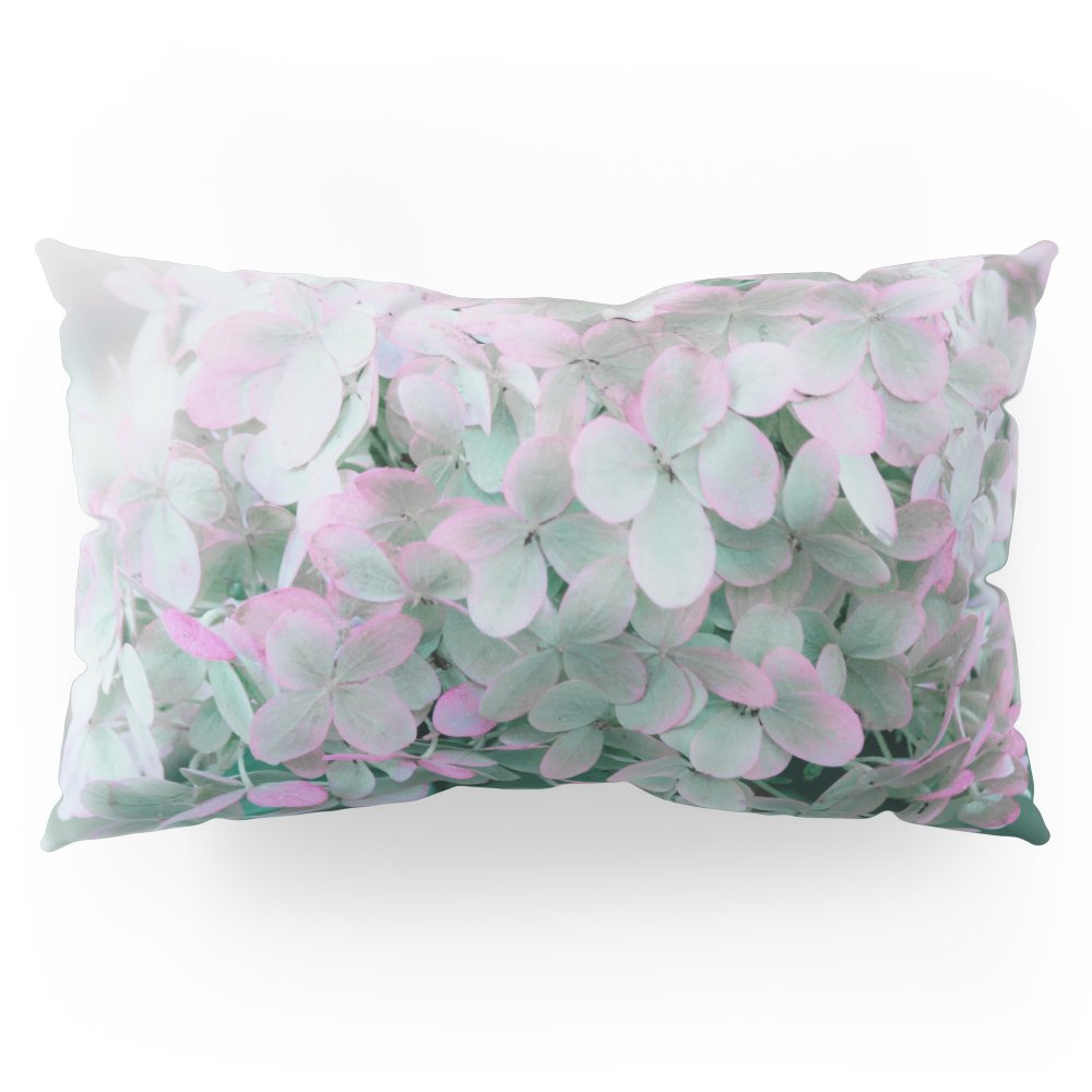 Society6 Soft Pastel Hydrangeas Pillow Sham King (20'' x 36'') Set of 2