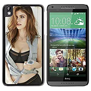 Alexandra Daddario Durable High Quality HTC Desire 816 Phone Case