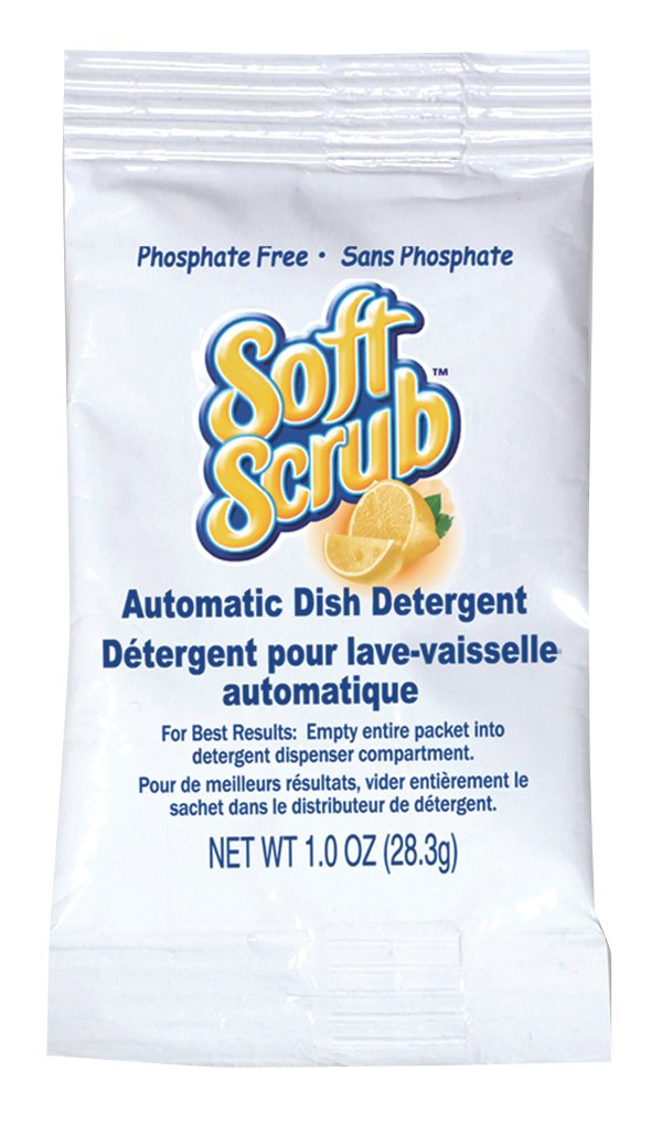 Soft Scrub Automatic Dish Detergent, 1oz Pouch (Pack of 200)
