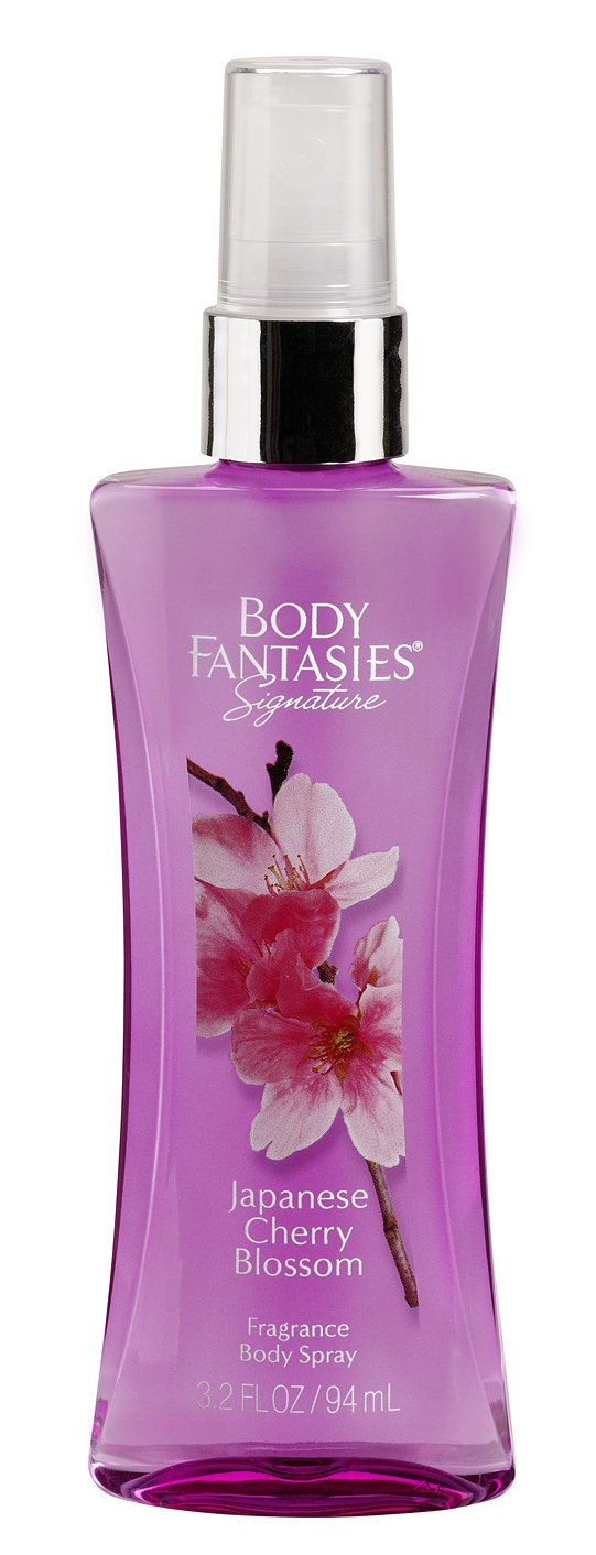 Body Fantasies Japanese Cherry Blossom, Confezione da (3X 94ML) 18090