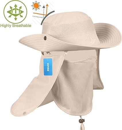 Tan Girls Fishing Summer Sun Protection Hats Full Face Masks Outdoors Sale