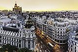 Madrid City Skyline Spain Europe Art Poster 20