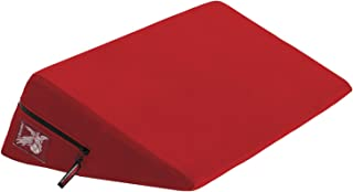 product image for Liberator Wedge Intimate Sex Positioning Pillow, Red Microfiber, 24 inch.