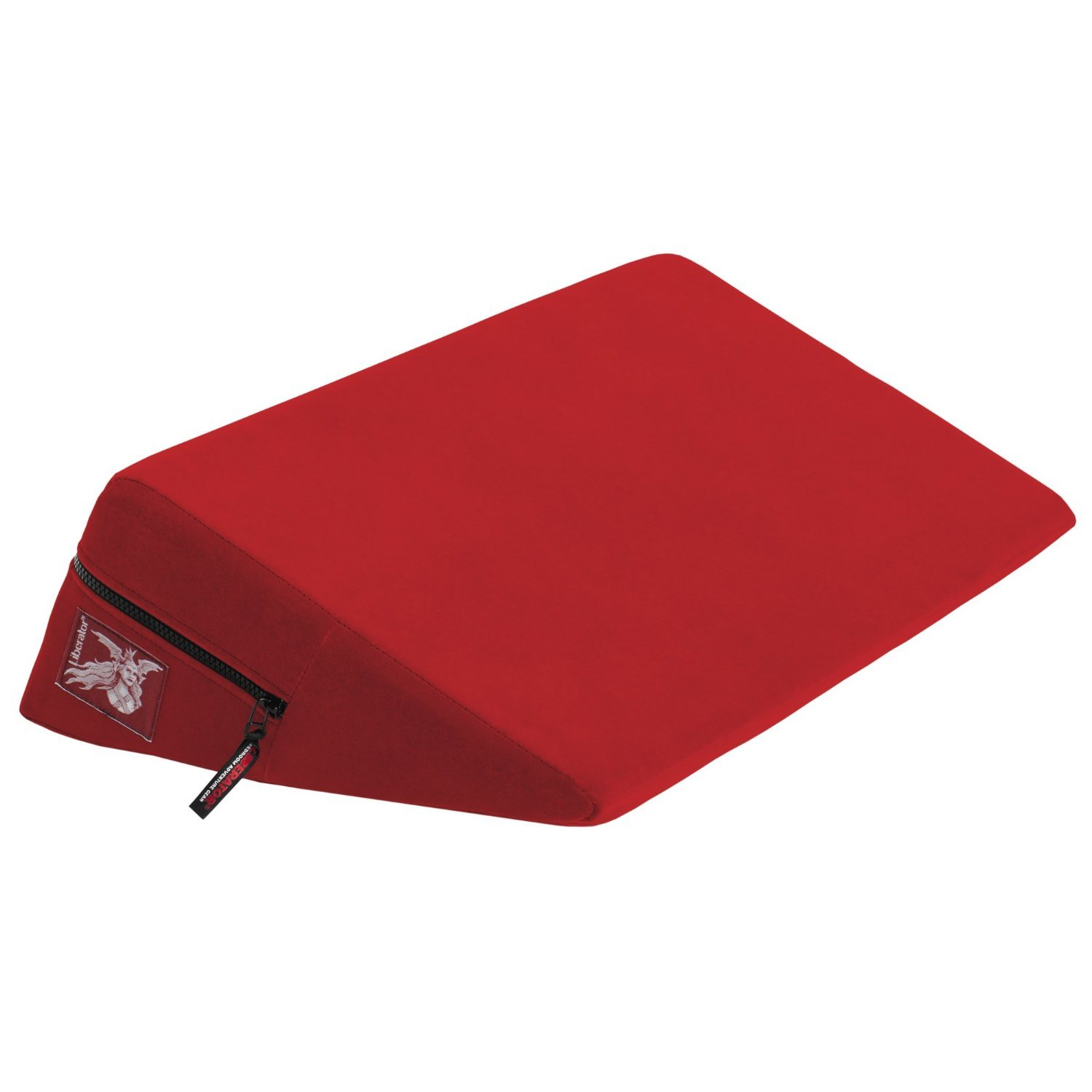 Liberator Wedge Intimate Positioning Pillow, Red Microfiber