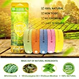 Mosquito Repellent Bracelet,Coniso 20pcs Insect & Bug Repellent Bands, 100% Natural, Non-Toxic, Indoor Outdoor Protection for Kids & Adults.