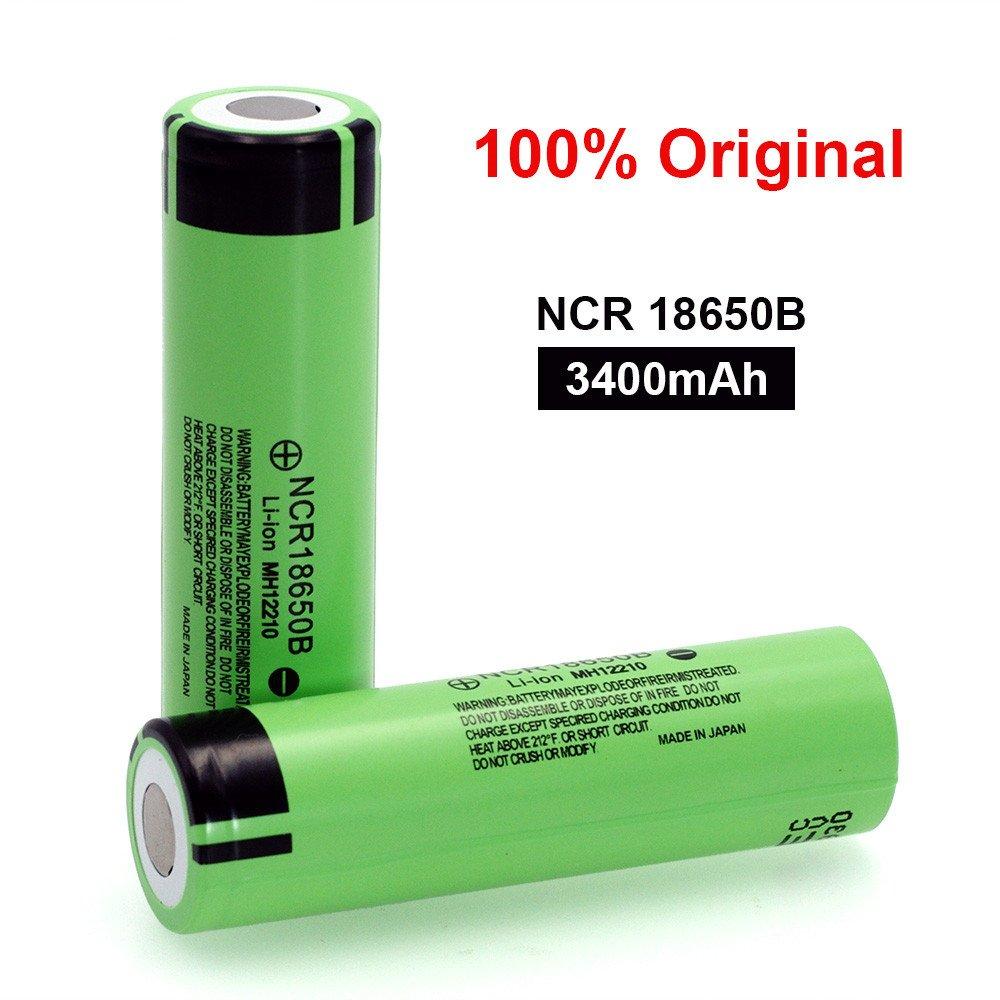 Leoie Exquisite 3.7V 3400mAH 18650 Rechargeable Lithium Battery for Panasonic Flashlight Batteries