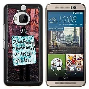 """Be-Star Único Patrón Plástico Duro Fundas Cover Cubre Hard Case Cover Para HTC One M9+ / M9 Plus (Not M9) ( Futuro Libertad Occupy Derechos de la revolución de sesión"""" )"""