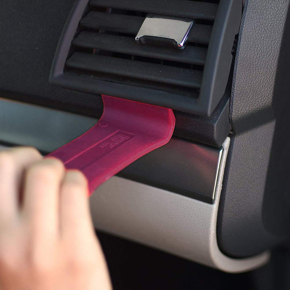 5 ST/ÜCKE Auto Trim Removal Tool Set f/ür Car Audio Dash T/ürverkleidung Fenster Moulding Fastener Remover Tool Kit