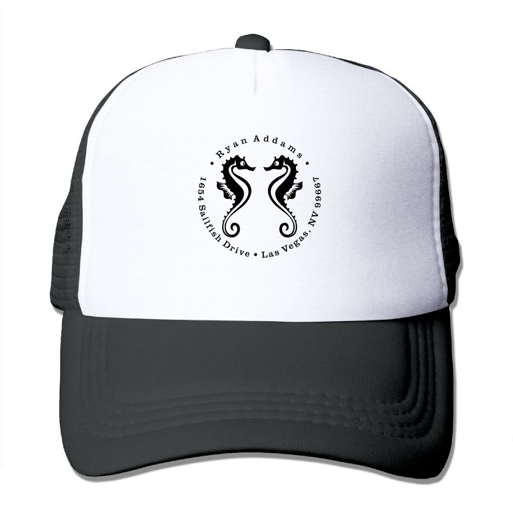 Seahorses Animal Sized Baseball Caps For Men Durability Great For Sports Climbing Dad Hats