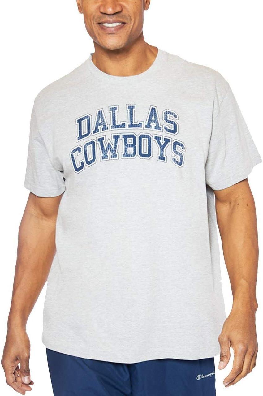 NCAA Mens Big and Tall Short Sleeve Cotton Tee Shirt Arch Heather Grey