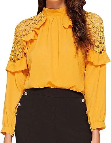Sudadera de Mujer, Camisas de Mujer, Blusa de Manga Larga con ...