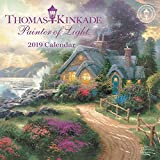 #9: Thomas Kinkade Painter of Light 2019 Mini Wall Calendar