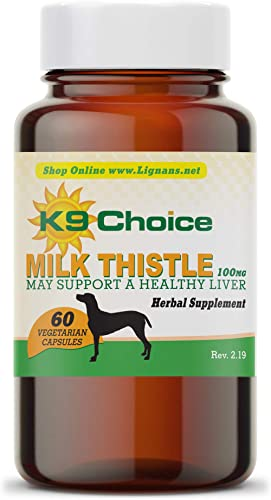 K9 Choice Milk Thistle for Dogs 100 mg