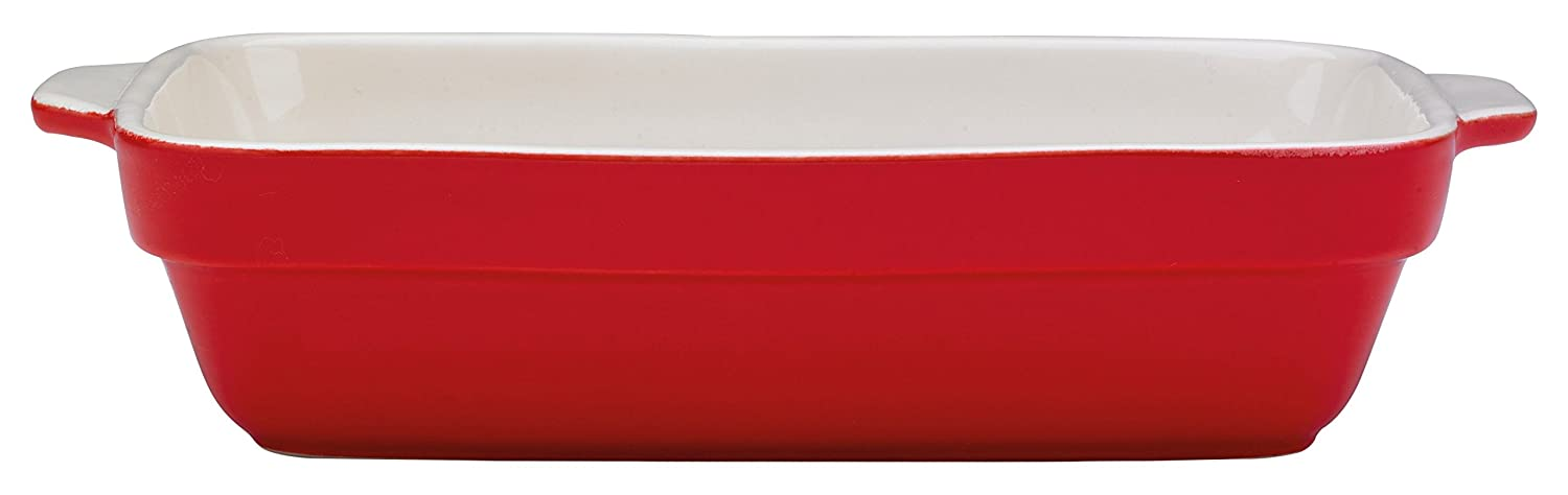 Prestige Vintage Ceramic 25x18 cm Rectangular Baking Dish - Red Meyer 59975