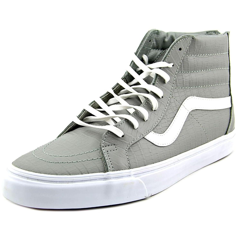 Vans Men's Sk8-Hi Zip Ca Croc Leather High-Top Skateboarding Shoe