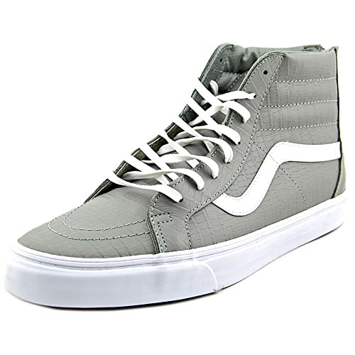 1189bf25a487b3 Vans Sk8-Hi Zip Men US 8 White Sneakers  Amazon.ca  Shoes   Handbags