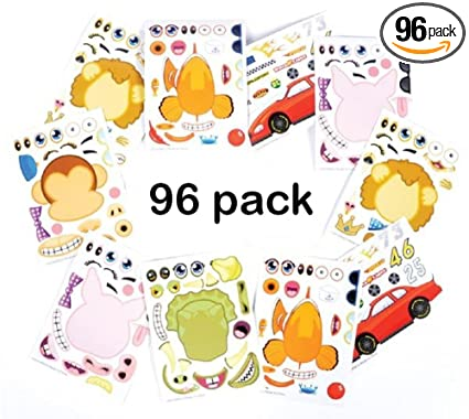 amazon com kidsco make your own sticker 96 stickers assortment