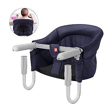SONARIN Silla Asiento de mesa para bebé,trona de mesa portátil ...