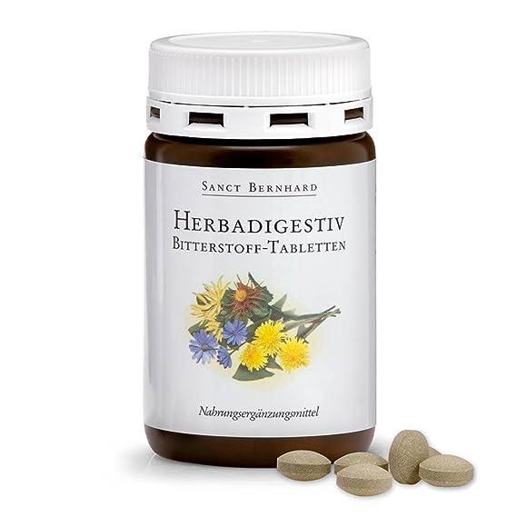 herbad igestiv Bitter plástico de pastillas con genciana raíz, Benedicto Rodnik 150 pastillas
