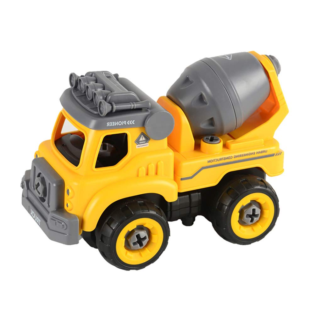 Take Apart Toys with Electric Drill Converts to Remote Control Car Toys for Boys Owill Gift Drift Car Remote Control