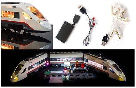 Led light up kit per i treni lego. kit lego leggero luci lego a led
