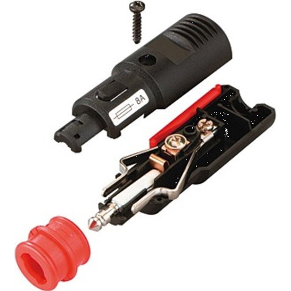 BAAS ZA06 Zig./DIN-Stecker mit 8A Sicherung: Amazon.de: Auto