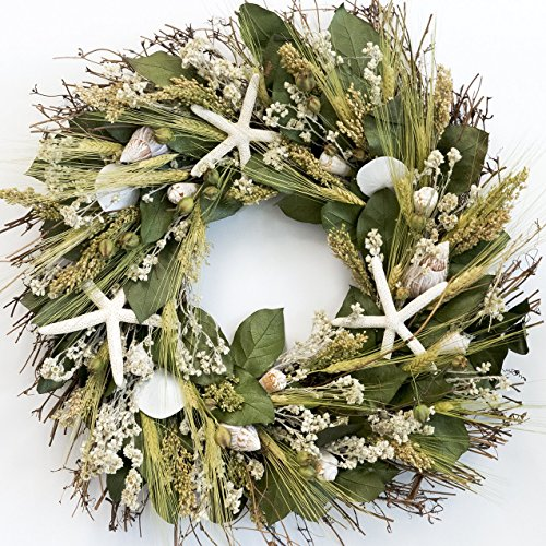 Nantucket-Starfish-Beach-Wreath