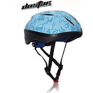 Dostar Kids Cycling Bike Helmet Road Mountain Racing Adjustable Hoverboard Skating Bicycle BMX Helmets 2-6 Years Old Toddler Boys//Girls