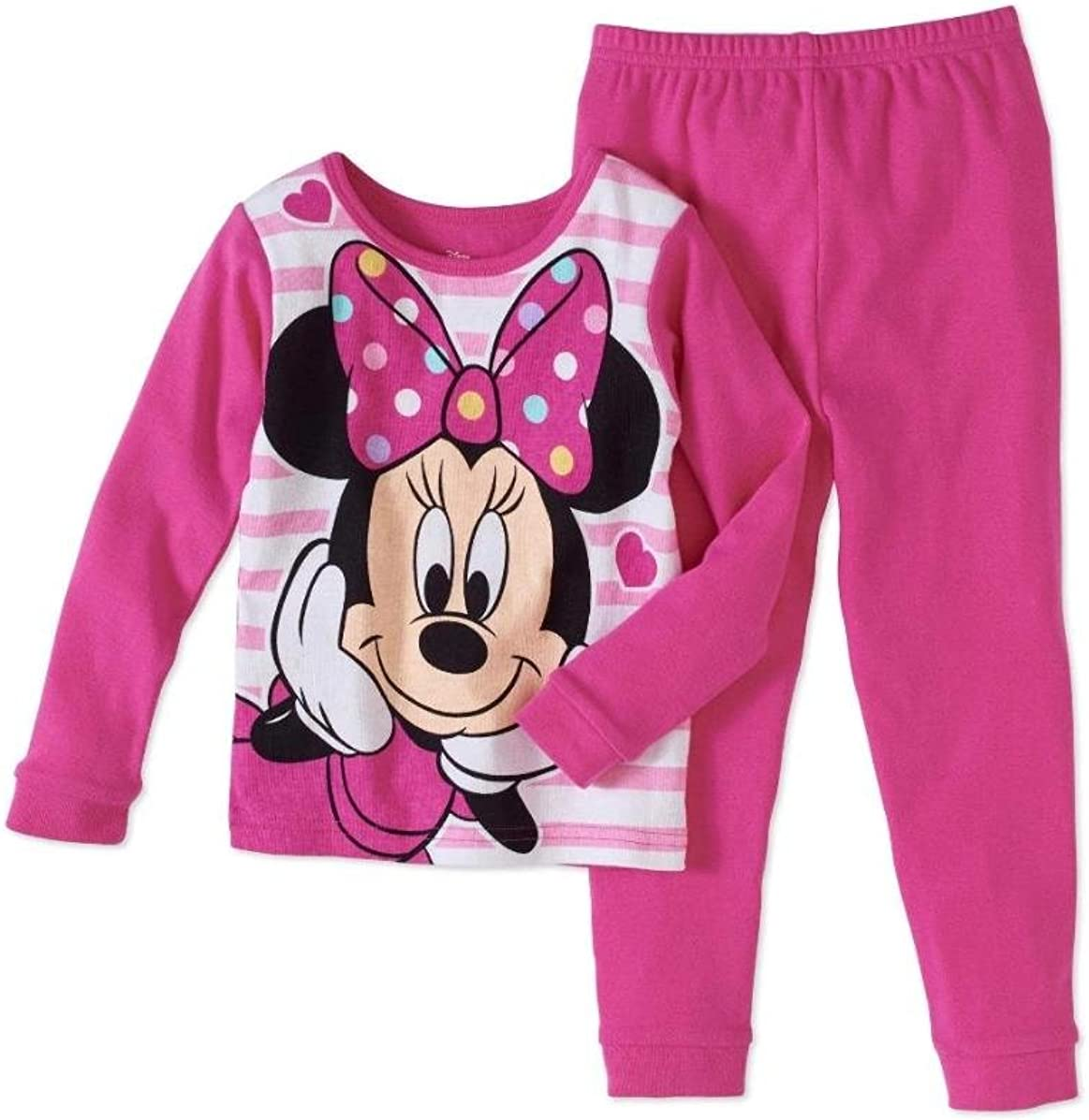 Size 12M-14Y Leveret Girls Stars Pajama Set 100/% Cotton