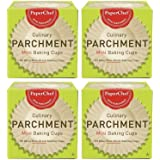 Mini Paper Cupcake Liners / Baking Cups, 90-ct/Box (Pack of 4)