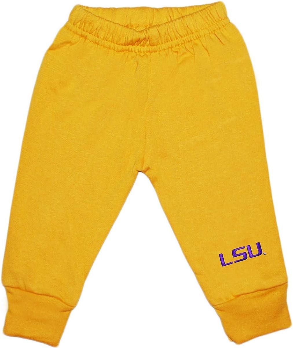 Creative Knitwear Louisiana State University LSU Baby and Toddler Sweat Pants