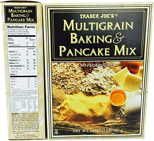 Trader Joe's Multigrain Baking & Pancake Mix - Cornmeal Pancake Mix