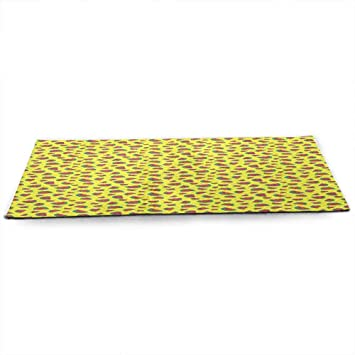 Amazon.com: WinfreyDecor - Alfombrilla de yoga de sandía con ...