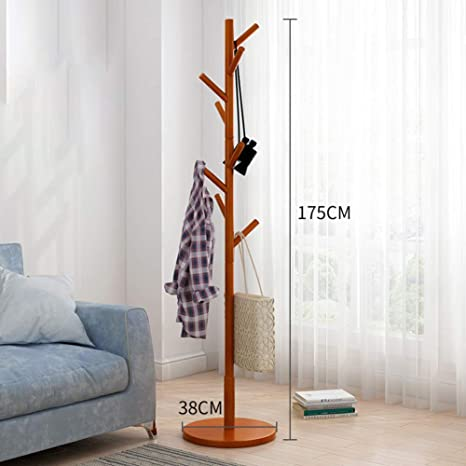 SKKGN Free Standing Perchero, En Forma de árbol Pantalla ...