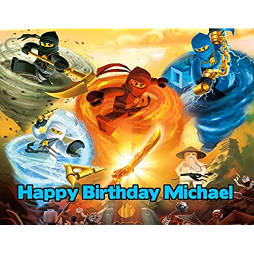 Ninjago Cake Toppers Amazon